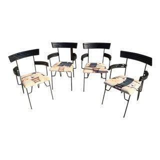 4 Mid Century Modern Chairs Atomic Age