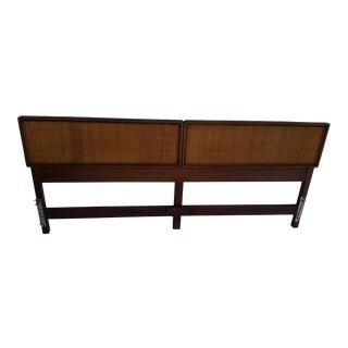 Mid Century Knoll King Bed Headboard