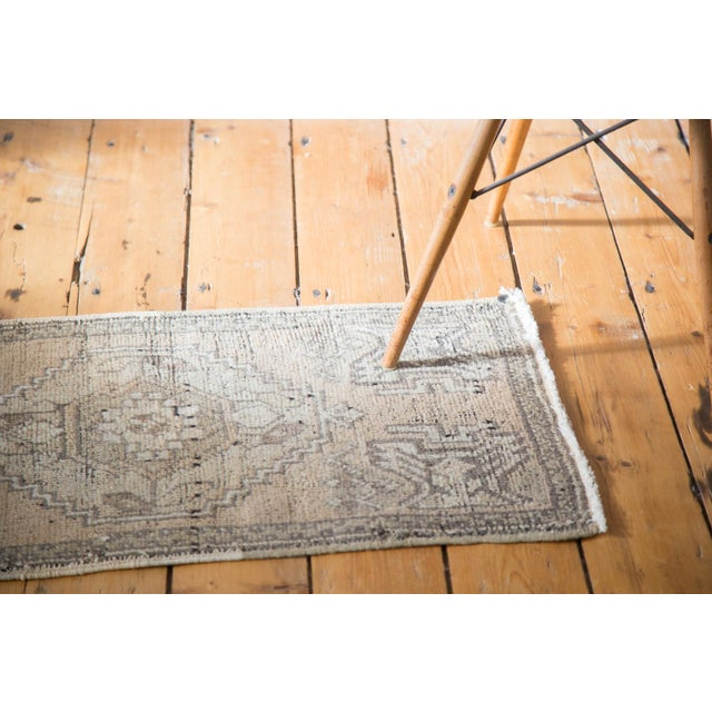 "Distressed Oushak Rug Mat - 1'8"" X 3'2"" - Image 2 of 7"
