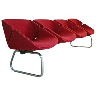 Thonet Mid-Century 4 Seat Bench