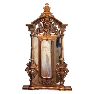 Skillington Gilt Mythological Mirror