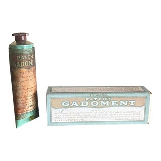 Antique Gadoment Creme Medicine in the Box