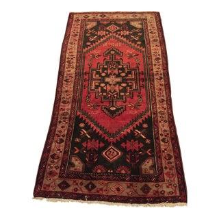 Vintage Red Persian Rug - 3′5″ × 6′4″