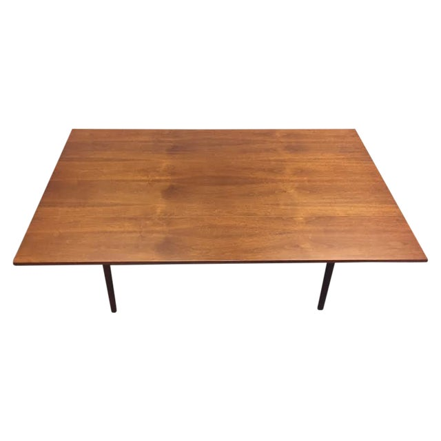 Walnut Mid-Century Danish Modern Dining Table - Image 1 of 7