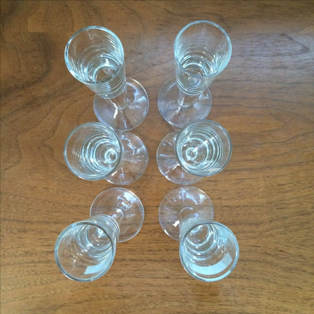Vintage Cordial Glasses - Set of 6 - Image 11 of 11