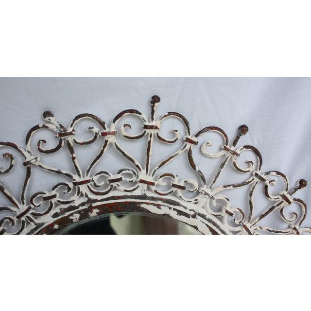 White Iron Mirror - Image 3 of 4
