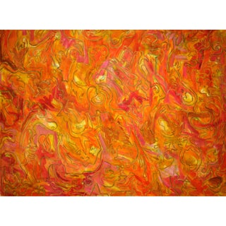 Boogie Nights Abstract Painting by Trixie Pitts