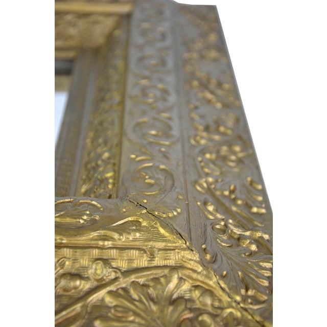 European Gilded Accent Mirror - Image 5 of 6