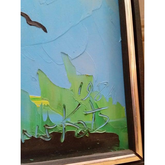Signed Morris Katz Forest Landscape Oil Painting - Image 3 of 6