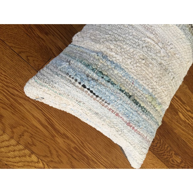Moroccan Kilim Boho Pastel Pillow Cover - Image 4 of 7