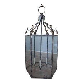 Wrought Iron Italian Lantern