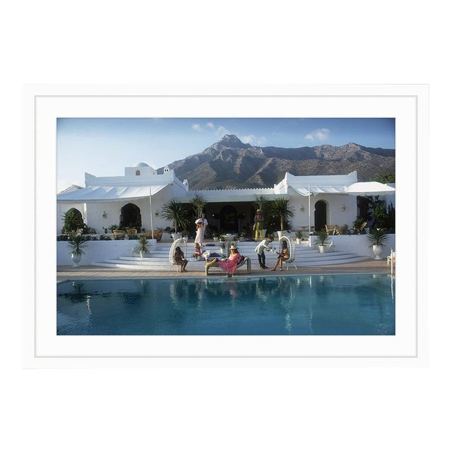 Image of Slim Aarons El Venero Marbella, 1967 Limited Edition Framed Print