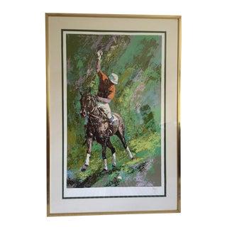 Mark King Polo Silkscreen Print