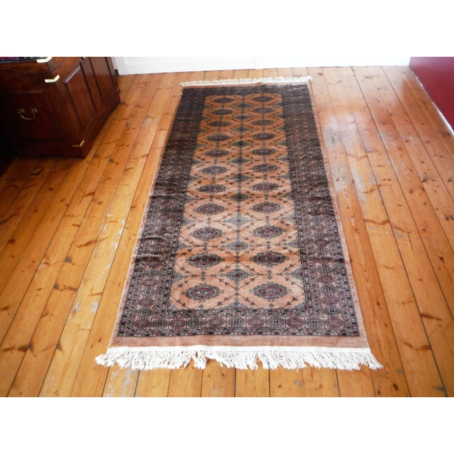 Knotted Persian Oriental Rug - 3′5″ × 8′2″ - Image 2 of 9
