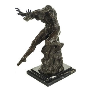 Bronze Male Form Sculpture by Auguste Rodin