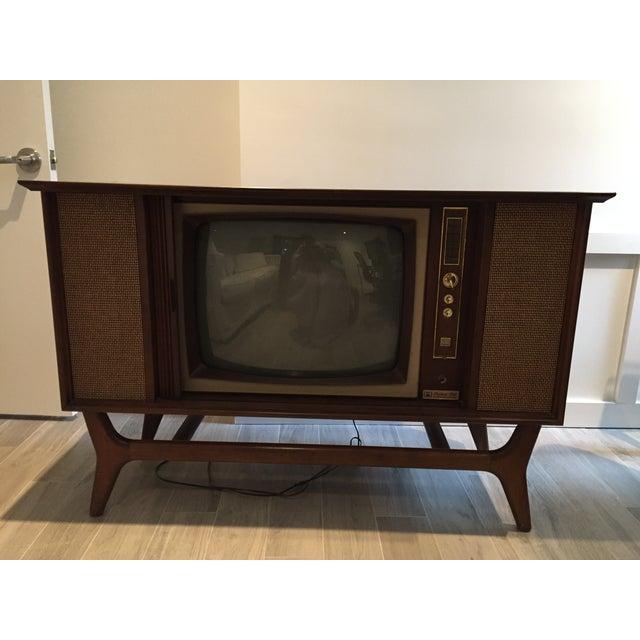 Image of Mid-Century TV Credenza