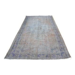 Antique Anatolian Floor Rug - 5′8″ × 10′1″
