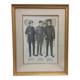 Framed Antique Clothing Line Print, 11 of 14