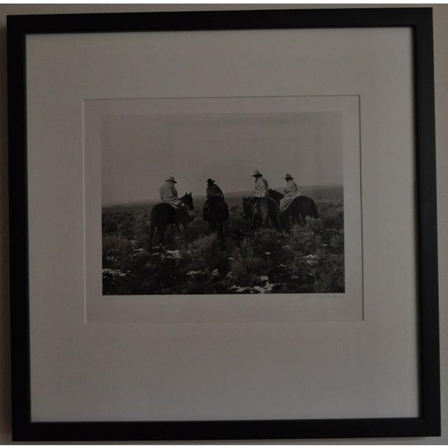 Image of Signed Kurt Markus Cowboy Ranch Photo