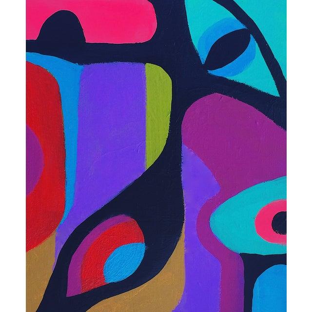Image of Bryan Boomershine Graphic Abstract Painting