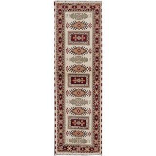 "Apadana - Modern Kazak Rug, 2'1"" x 6'7"""