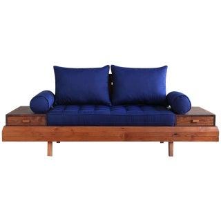 Floating Blue Loveseat by Masaya & Company