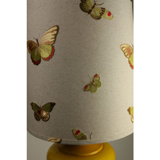 Citron Ginger Jar Lamps - A Pair - Image 3 of 4
