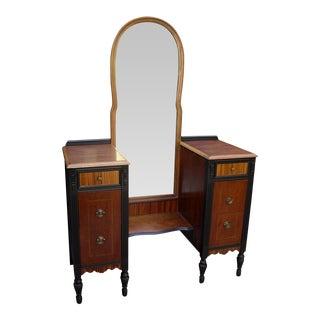 Edwardian Exotic Wood Vanity