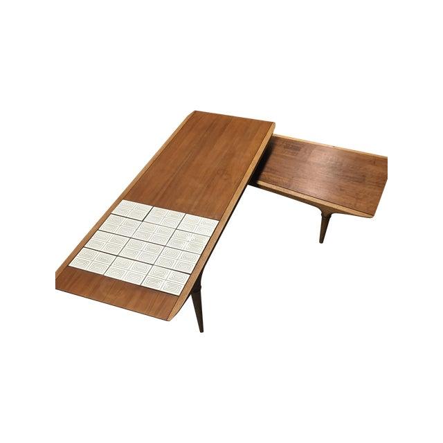 Vintage Lane Swivel Boomerang Coffee Table Chairish