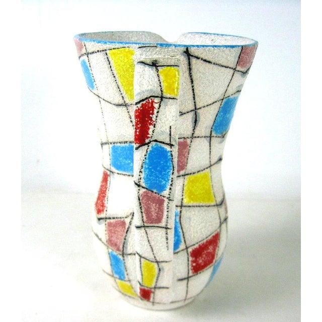 A. Londi Style Art Pottery Pitcher - Image 5 of 7