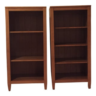 Ethan Allen Bookcases - Pair