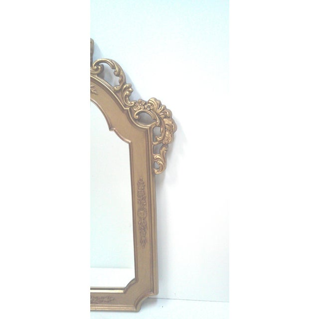 Gilt Baroque Wall Mirror - Image 5 of 5