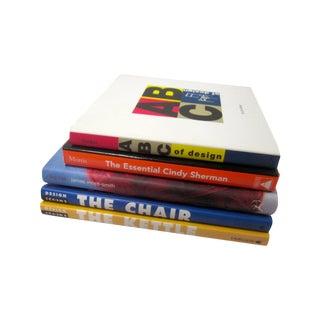 Design & Fashion Books - Set of 5