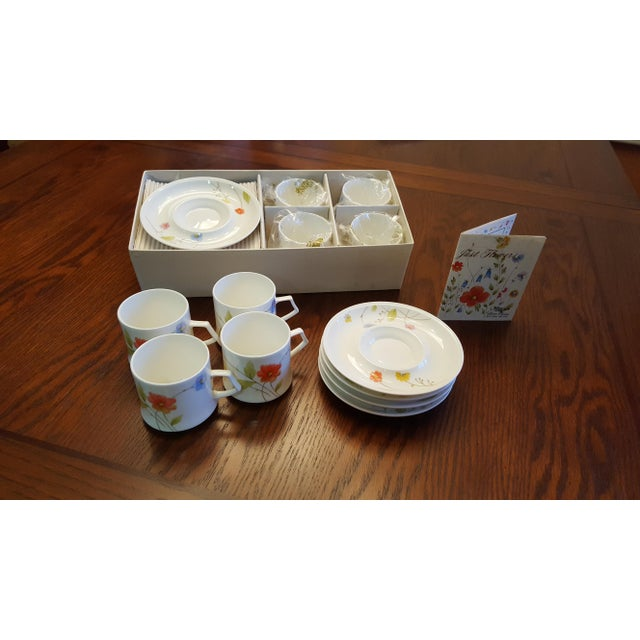 "Mikasa ""Just Flowers"" Dinnerware Set - Image 9 of 11"