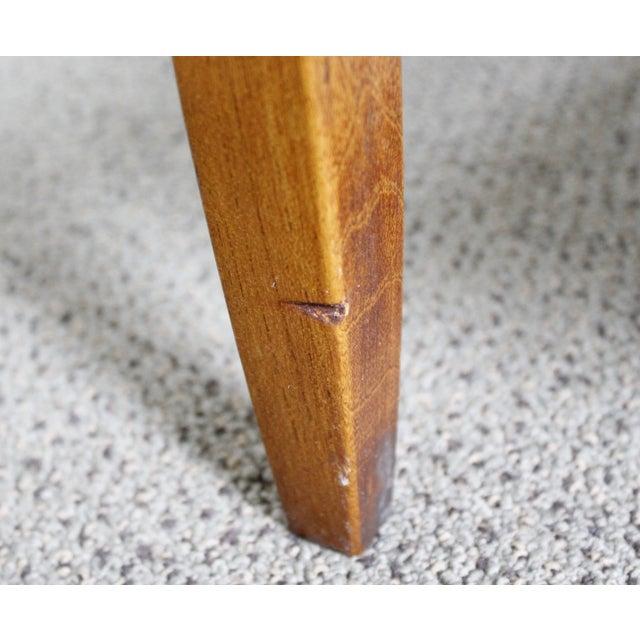 Lane Mid-Century Tile & Wood End Table - Image 9 of 10