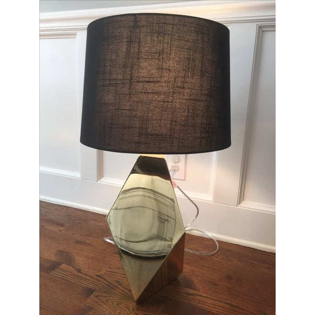 Gold Faceted Table Lamp By Nate Berkus For Target Chairish