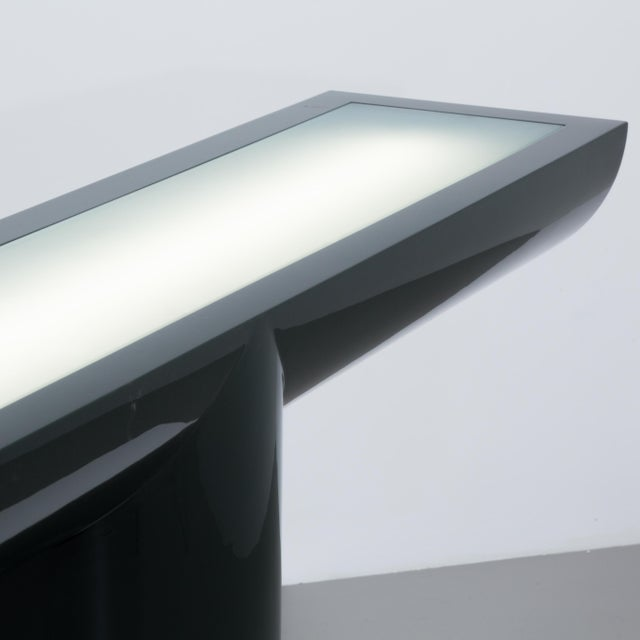 Image of A Lacquered Cantilevered Console Lightbox 1970s