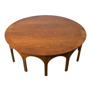 T.H. Robsjohn Gibbings Walnut Coffee Table