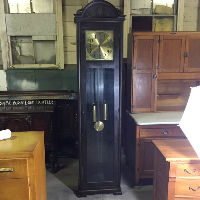 Colonial MFG Grandfather Clock - Image 2 of 6