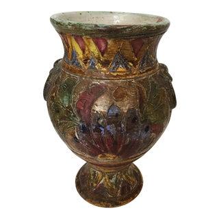 Vintage Italian Scraffito Vase