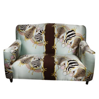 Roberto Cavalli Custom Upholstered Silk Loveseat