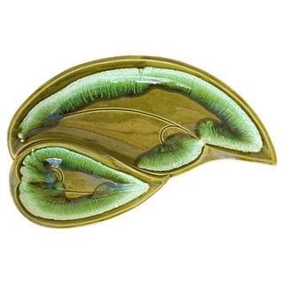 Mid-Century Leaf Platter