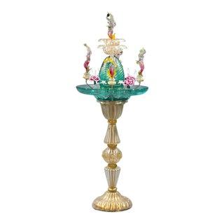 Murano Venetian Glass Water Fountain