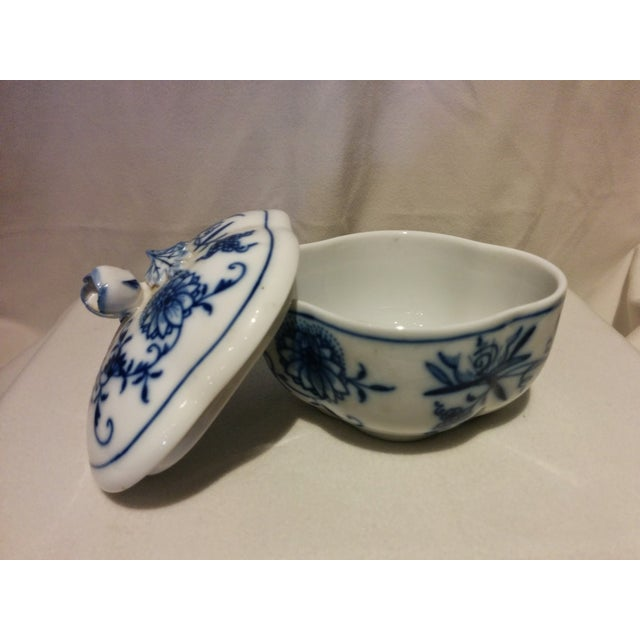 Meissen Blue Onion Cream & Sugar Set - Image 9 of 10