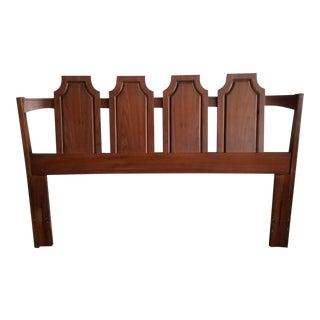 Kent Coffey Walnut Queen Headboard
