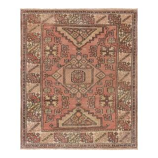 """Pasargad Kazak Wool Area Rug - 4'2"""" x 6'3"""""""