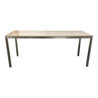 Room & Board Quartz Top Portica Dining Table