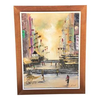 Singapore Oil Painting