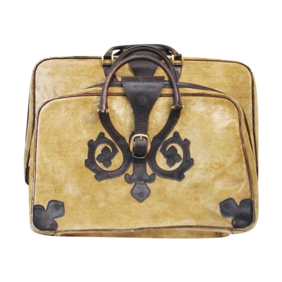 Saks Fifth Avenue Vintage Italian Suitcases - Pair - Image 1 of 6