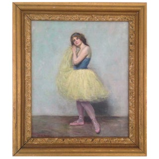 The Ballet Girl Painting by H.L. Nay